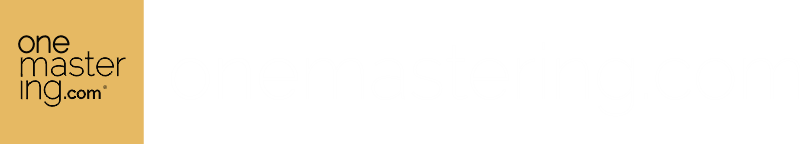 One Mastering // #1 Professional online mastering service EVER.